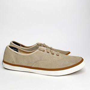 Keds Shoes Khaki Champion Low Top Lace Up
